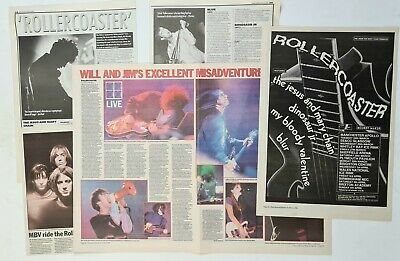 The Jesus & Mary Chain /blur / My Bloody Valentine - Rollercoaster - 1992 Mm/nme • 3.49£