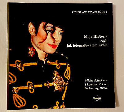 Michael Jackson History Book Visit From Poland 1997 • 35£