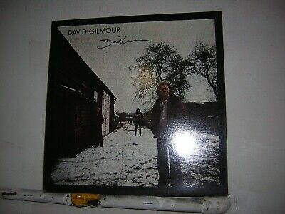 Pink Floyd David Gilmour Signed LP Solo 1977 • 74.30£