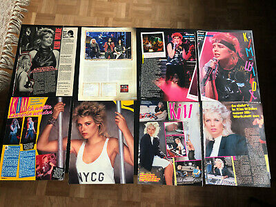 KIM WILDE 31 Great Rare Clippings/poster  • 8£