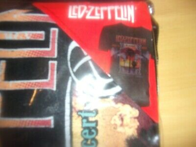 Led Zeppelin - 'Inglewood' T-Shirt ; New & Sealed ; Small ; Official Merchandise • 34.99£
