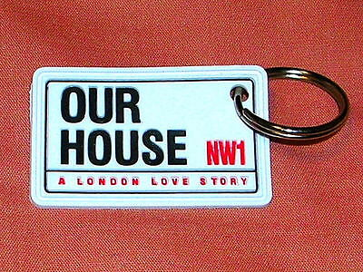 Our House Madness Musical - Official Rubber Keyring - Suggs Two 2 Tone Ska • 2.25£