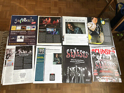 GENESIS PHIL COLLINS  PETER GABRIEL STEVE HACKETT 119 Rare Clippings/poster  • 8£