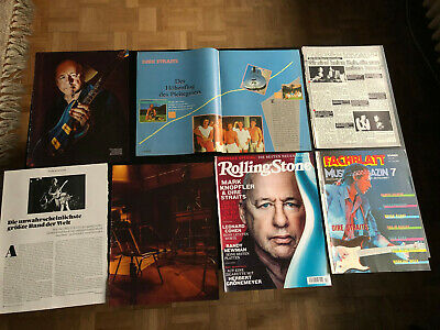 DIRE STRAITS MARK KNOPFLER 111 Great Rare Clippings/poster 80's • 8£
