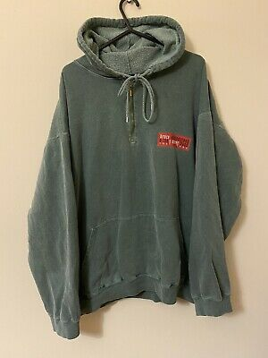 Bruce Springsteen Reunion Tour 1999 Green Zip Hoodie Large Mens • 22.99£