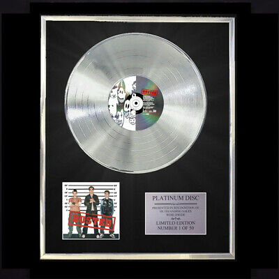 Busted / Busted Cd  Platinum Disc Vinyl Lp Record Award Display • 167.97£