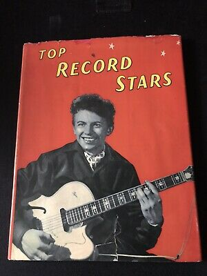 Top Record Stars Hardback Book • 5£