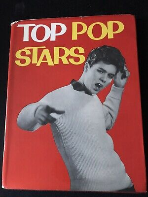 Top Pop Stars Hardback Book 1960 • 5£