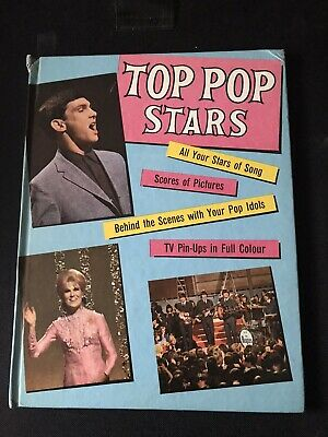 Top Pop Stars Hardback Book • 5£