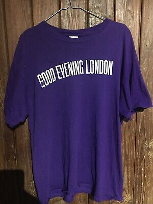 Paul McCartney Good Evening London Official 2009 O2 Show T-shirt Size L. BeaTles • 25£
