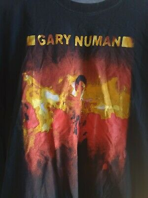 Gary Numan Hope Bleeds T Shirt • 16£