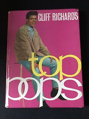 Cliff Richard's Top Pops Hardback Book • 3£