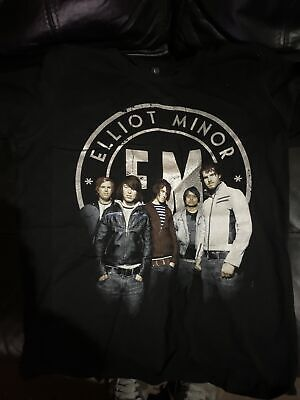 Elliot Minor Tour T Shirt Largr Ladys Fitted • 1.90£