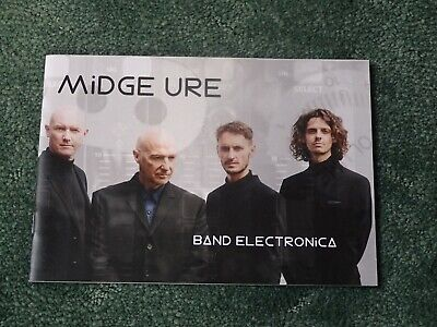 Midge Ure Band Electronica Colour Photographic Booklet • 1.99£