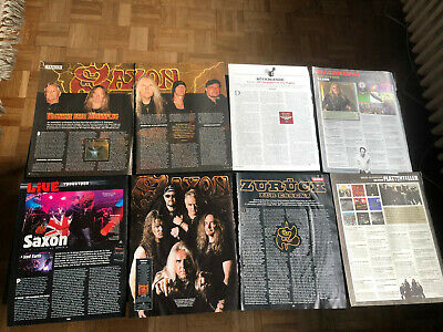 SAXON BIFF BYFORD 88 Great Rare Clippings/poster • 8£