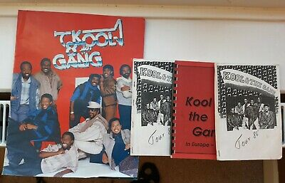 KOOL & THE GANG - 1986 Forever OFFICIAL TOUR PROGRAMME With Itineraries For Crew • 7.50£
