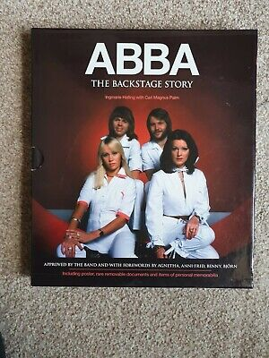 ABBA The Backstage Story Book With Slipcase And All Inserts • 16.99£