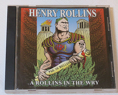 A Rollins In The Wry PA By Henry Rollins CD 2001 Quarterstick Future Parents • 26.85£