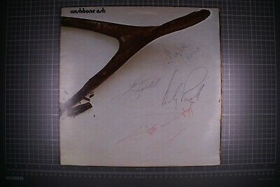 Wishbone Ash Signed X 4 LP G/F Self Titled MCA MKPS 2014 • 115£