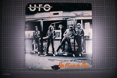 UFO Signed X 5 LP No Place To Run Chrysalis CHR 1239 • 200£