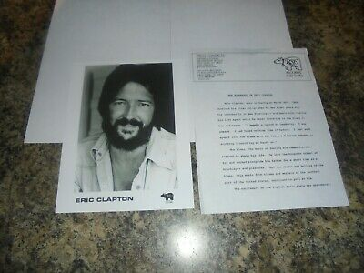 Eric Clapton Record Company Promotion Pack • 1.99£