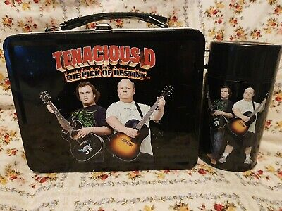 Tenacious D Lunchbox Flask Rare Pick Of Destiny Ltd Ed. Music Memorabilia  • 42.49£
