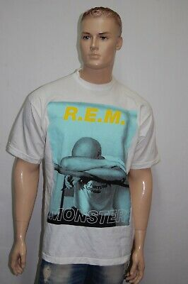 Vintage REM, T-shirt  Monster World Tour 1995. Size XL • 130£