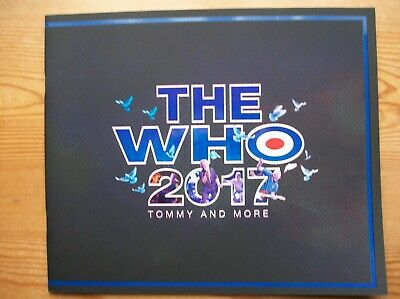 The Who Tommy And More 2017 Tour  Concert Programme Pristine Official Original • 18.99£