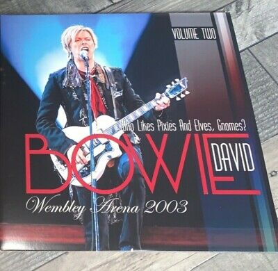David Bowie - Who Likes Pixies And Elves, Gnomes? Part Two - Live Rare LP Vinyl • 49.99£