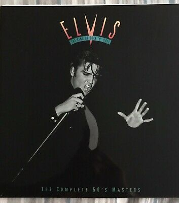 Elvis The King Of Rock 'N' Roll The Complete 50's Masters Paperback • 5.50£