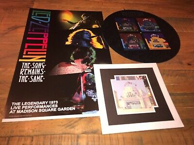Led Zeppelin - Song Remains The Same - Promo Items • 22£