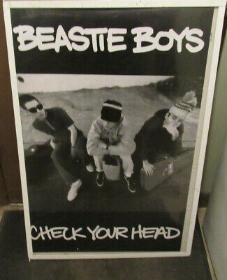 Beastie Boys New Poster Mid 2000's Vintage Collectable Check You Head • 9.21£