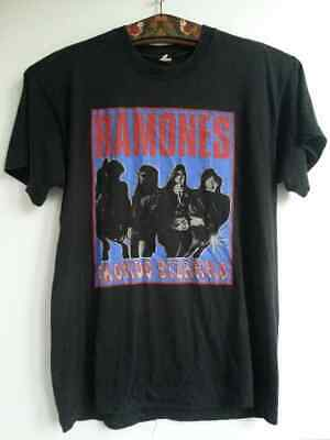 THE RAMONES Mondo Bizarro Vintage T-shirt Made In Ireland Size L • 150£