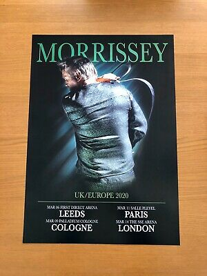"""Morrissey Tour 2020 (Double Sided) A2 Poster """"Very Limited Edition"""" • 13.99£"""