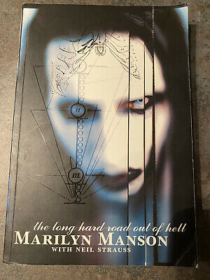 Marilyn Manson Book The Long Hard Road Out Of Hell • 1£