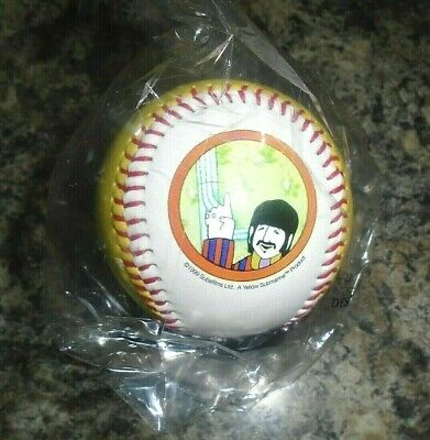 The Beatles Ringo Starr  Yellow Submarine Baseball Mint In Sealed Packaging • 10£