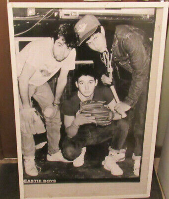 Beastie Boys New Poster Mid 2000's Vintage Collectable Glaschow Scottland • 9.21£