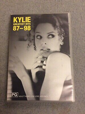Kylie Greatest Hits 87-98 DVD • 20£