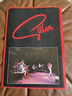 Ian Gillan Band Tour Programme Signed • 59.99£
