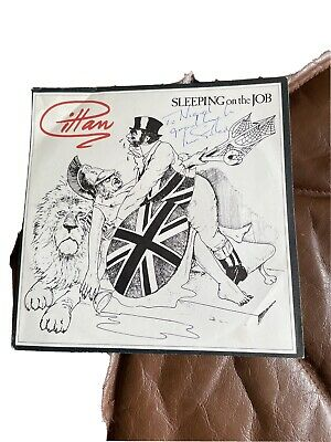 Ian Gillan Sleeping On The Job Single Signed • 59.99£