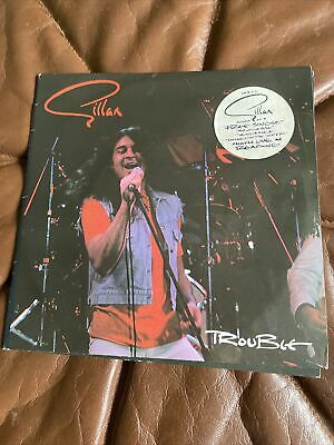 Ian Gillan Trouble Double Single Signed • 59.99£