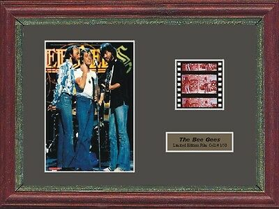 The Bee Gees Mini Framed 35mm Film Cell • 19.99£