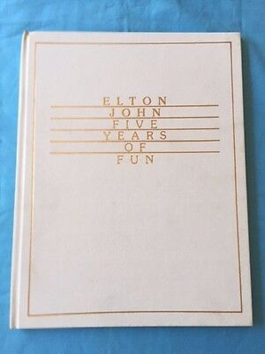 Elton John. Five Years Of Fun *inscribed By Elton John* • 536.44£