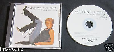 Whitney Houston 'whatchulookinat' 2002 Promo Cd Single • 18.53£
