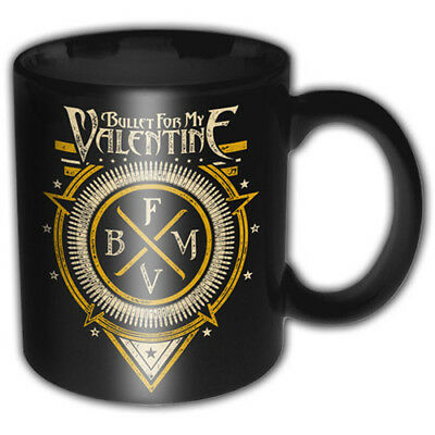 Bullet For My Valentine BFMV Emblem Black Boxed Premium Coffee Mug Cup Official • 10.95£