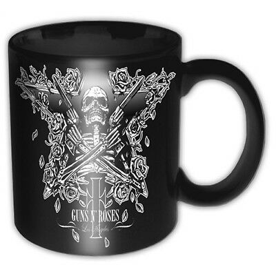 Guns N Roses Skeleton Star Black Boxed Gift Premium Coffee Mug Cup Fan Official • 10.95£