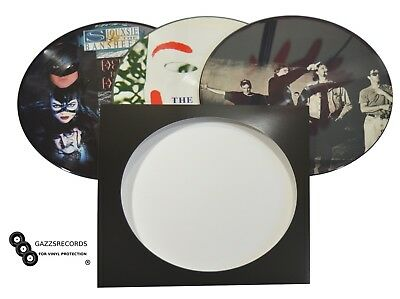 10 12  Lp Vinyl Replacement Picture Disc Cardboard Record Sleeves & Poly Inners • 11.99£