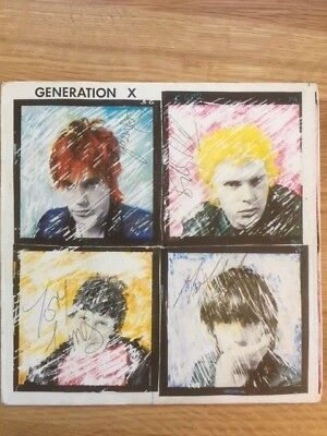 Generation X 7  Single Fully Signed Billy Idol WILD YOUTH • 199£
