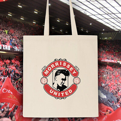 Morrissey The Smiths Manchester United Tote Bag • 5£