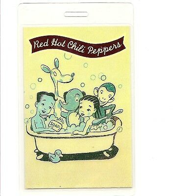 Red Hot Chili Peppers Backstage Pass 1995 Support Anthony Kiedis Flea  • 14.19£